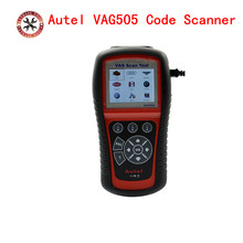 OBDII OBD2 Diagnostic Tool Autel MaxiService VAG505 Handheld Device VAG 505 Code Reads and erases Diagnostic Trouble Codes