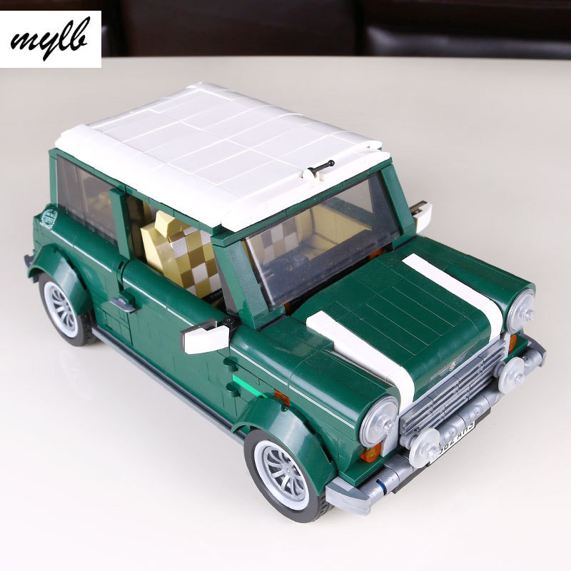 mylb HOT 1108Pcs Creator MINI Cooper beetle Model Building Bricks Block Set Toy Gift Compatible With DIY<br>