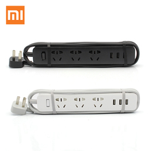 Xiaomi USB Power Strip 5V 3.1A Outlet Socket Compact Extension Socket Plug with 3 USB Ports