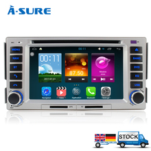 A-Sure Android 5.1.1 Car GPS RADIO For Hyundai Santa fe ELANTRA Quad-core 3G WIFI Car DVD Player GPS Navigation With Radio