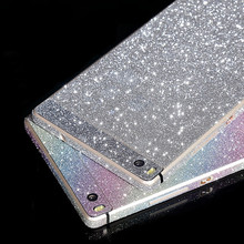 Bling Glitter Shiny Crystal Diamond Full Body Front and Back Wrap Decal Film Sticker Skin For Huawei Ascend P8 /P8 Lite