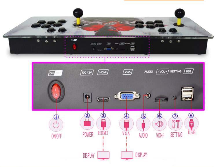 arcade console 1