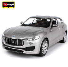 Maisto Bburago New 1:24 Maserati Levante SUV Diecast Car Model Toy For Kids Birthday Gifts With Original Box Free Shipping