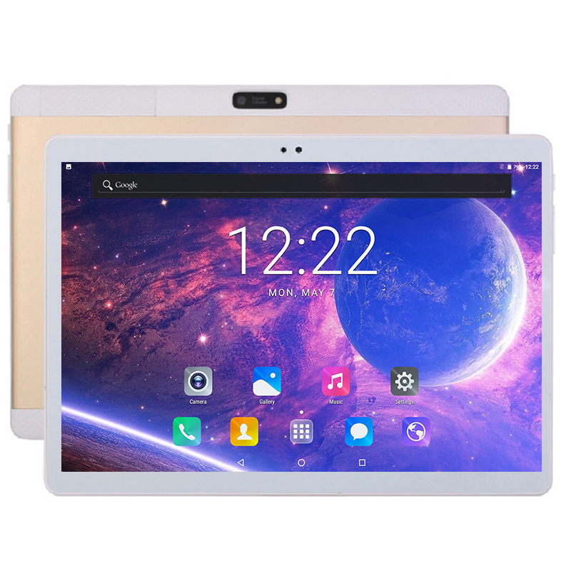 2018 New 10 inch Tablet 4GB RAM 64GB ROM Octa Core 4G LTE 1920*1200 IPS 4G LTE FDD Android 7.0 Tablet 10.1 inch Free Shipping(China)