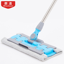 Rotating 360 Spin Mop Floor Cleaning Mop Easy Bucket Dust Mop Magic Easy  Microfiber Mop with 2 cloth