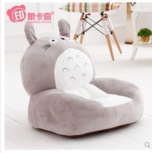 stuffed animal 54x45cm totoro cat children's sofa tatami plush toy soft sofa floor seat cushion doll w2300(China)