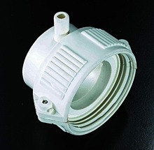 "1.5""spa pool PVC plastic parts,sand filter coupling joint(China)"