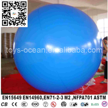 Advertising large inflatable helium balloons