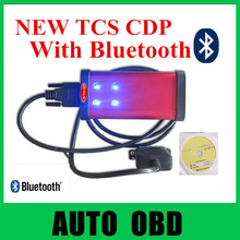 tcs scanner vd tcs cdp pro plus OBDII LED main cable OBD2 auto car com truck red color