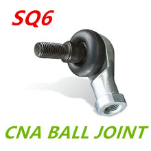 Free Shipping High Qulity SQ6RS SQ6 6mm Ball Joint Rod End Right Hand Tie Rod Ends Bearing SQ6RS