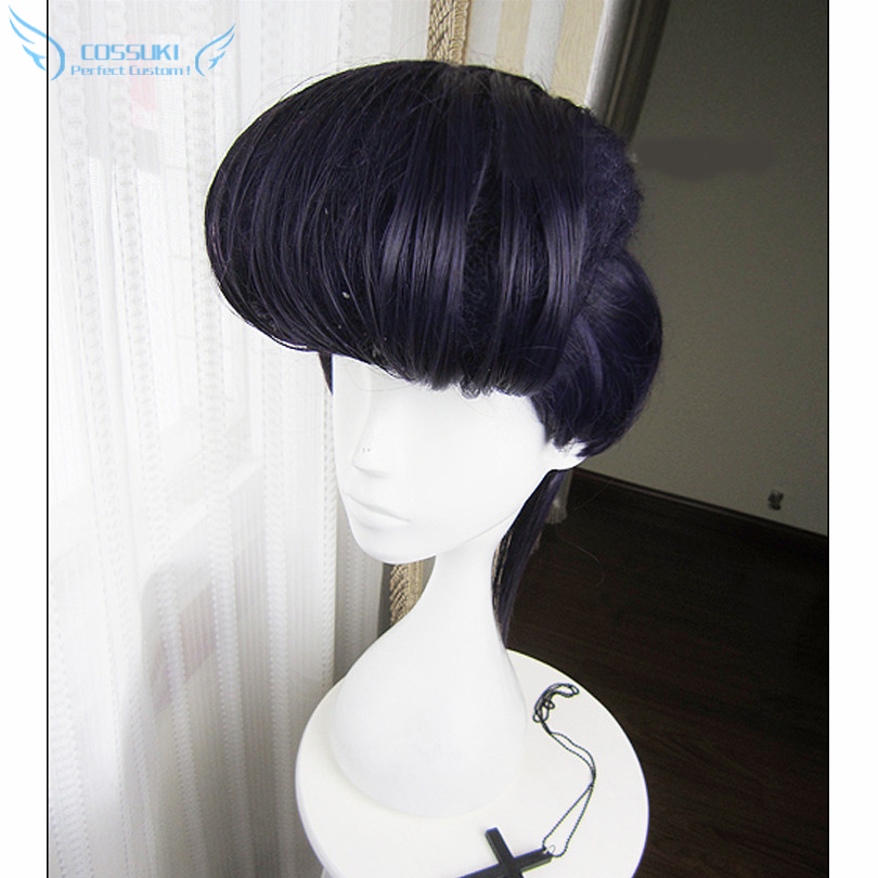 JoJos Bizarre Adventure Higashikata Josuke Cosplay Wig Free Wig Cap Stock !<br><br>Aliexpress