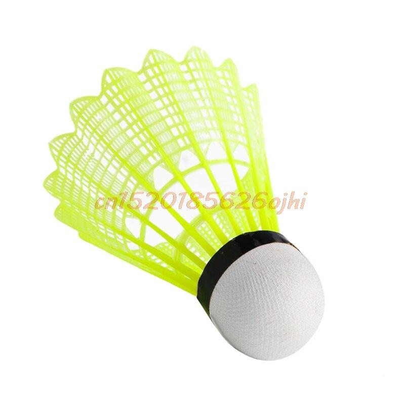 3pcs Game Sport Training White Duck Feather Shuttlecocks Badminton Ball VB Badminton