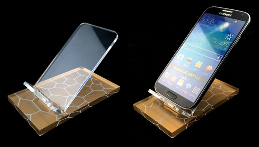 Phone holder cell phone inserted bottom acrylic digital display showing stand rack desktop display stand furniture accessories<br><br>Aliexpress