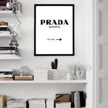fashion Quotes Canvas Print Poster Wall Pictures For Home bar shop Decoration,no frame