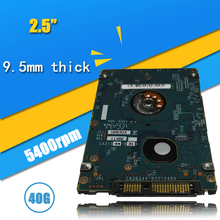"40GB HDD  2.5"" HDD  SATA 40GB 5400RPM   HD  xbox 360 Notebook Hard Disk Drive interno Disco Duro Hot Selling"