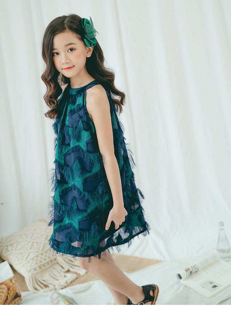 Teenage Girl Summer Dress Size 10 12 14 White Party Wedding Little Girl Dresses Princess Kids Clothes Age 4 6 8 Green Clothing 10 Online shopping Bangladesh