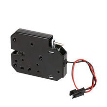 12V Combination Cabinet Lock Electromagnetic Electric Control Cabinet Drawer Lockers Lock Latch Carbon Cadenas Serrure