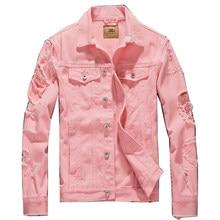 40f4fb74e60 Plus Size S-3xl Men s Vintage Stretch Jacket and Coats Fashion Mens Jeans  Jacket Brand Denim Outwear Male Cowboy Clothing