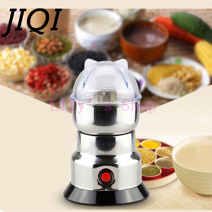 Electric Chinese medicine coffee beans grinder whole grains mill powder mini ultrafine grinding machine household herbs shredder<br>