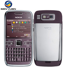 Original Nokia E72 cell phone 5MP Camera 3G Wifi Bluetooth FM GPS unlocked e72 phone(China)