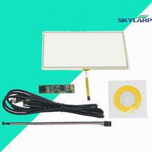 New 6.2 inch 4 Wire Resistive Touch Panel Digitizer 150x90mm With USB Controller Kit Screen touch panel Glass Free shipping