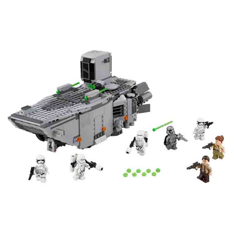 Lepin 05003 845pcs Force Awakens First Order Transporter Toys Building Blocks Marvel Classic Model Toys<br><br>Aliexpress
