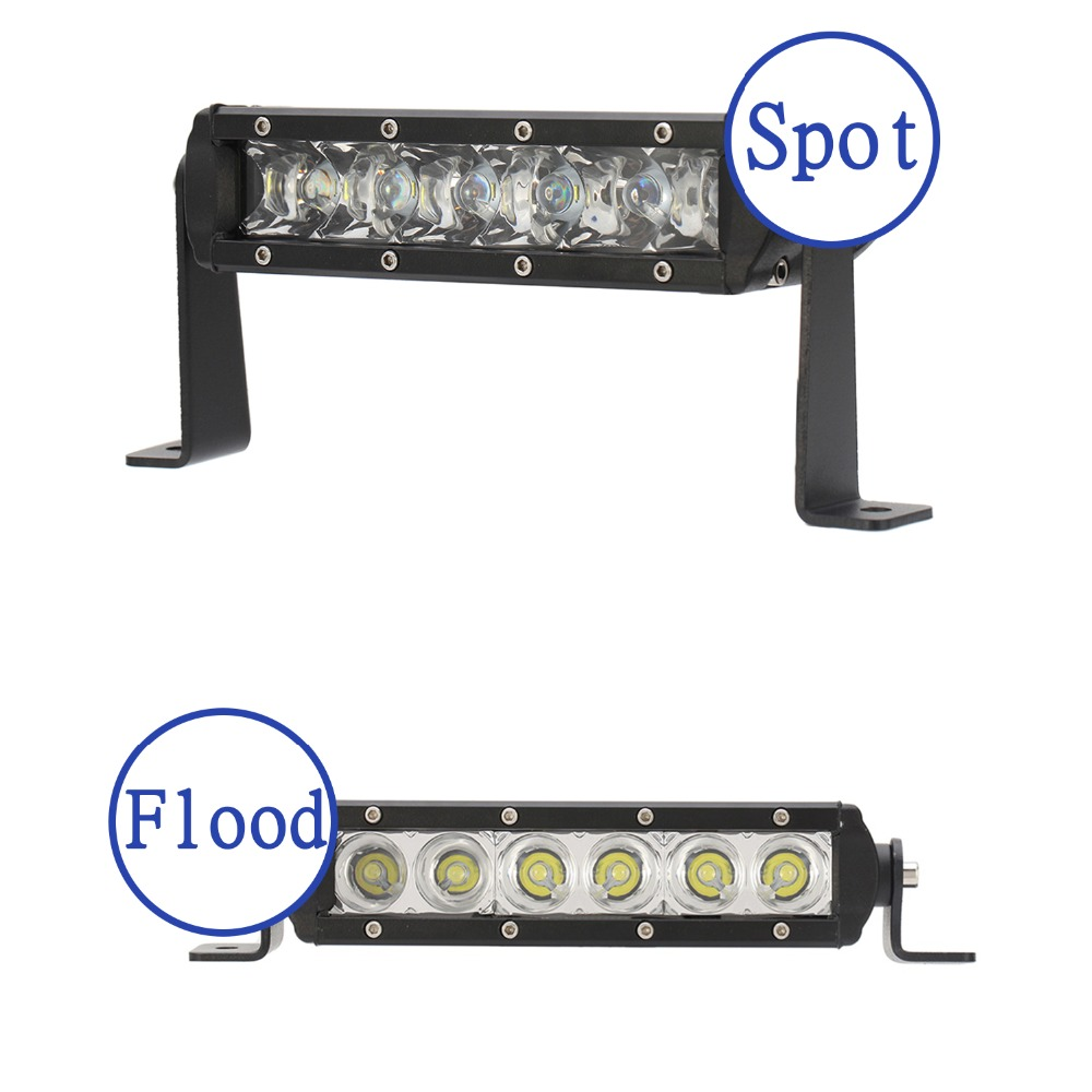 1PCS 30W with Cree LED Chips Work Light Spot Flood 3000LM For Off Roda 4x4 Motorcycle Boat ATV Truck Tractor 4WD Fog Lamp D15<br>