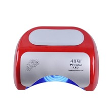 48W Nail Dryer Polish Machine CCFL UV Lamp LED Nail Lamp For Gel Nail Polish Art Automatic Hand Sensor Nail Art Tools