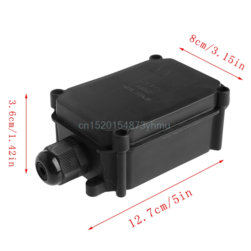Waterproof IP66 Plastic Cable Wire Connector Gland Electrical Junction Box #L057# new hot