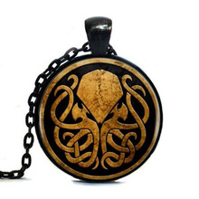 1pcs/lot Cthulhu Tag Bronze Copper Long Vintage Tag Women Jewelry Free Shipping