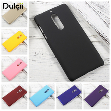 DULCII Case for Nokia 5 Nokia5 Rubberized Hard PC Plastic Cover Mobile Phone Funda Smartphone Back Cases Protect Coque(China)