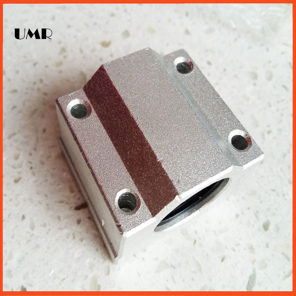 SCS8LUU 8mm Linear pillow block linear unit for CNC part SC8LUU SC8 LUU<br><br>Aliexpress