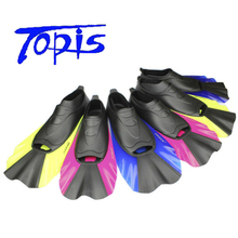 Wholesale  fins diving for adult swimming diving equipment flipper rubber swimming fins Free Shipping
