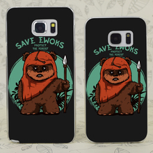 C1312 Save Ewoks Transparent Hard PC Case Cover For Samsung Galaxy S 3 4 5 6 7 Mini Edge Plus Note 3 4 5 7(China)