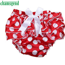 Chamsgend Baby Ruffle Bloomers Layers Diaper Cover Flower Shorts Skirts Feb09