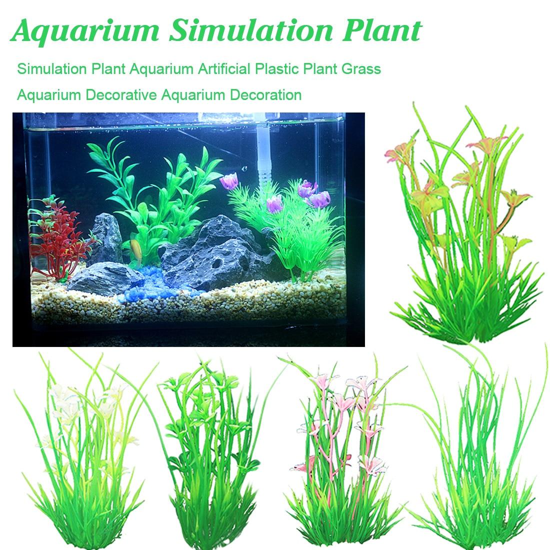 10PCS Simulation Bushes Model diy Grass Aquarium Water Tank Aquarium Decoration