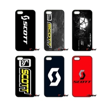 For iPhone 4 4S 5 5C SE 6 6S 7 Plus Samsung Galaxy Grand Core Prime Alpha Scott Bike Bicycle Riding Sport Logo Cell Phone Case(China)