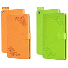 Enzi Print Pattern PU Flower Leather Case Cover For Huawei MediaPad T3 8 8.0 KOB-L09 KOB-W09 Tablet PC DHL/EMS Free(China)