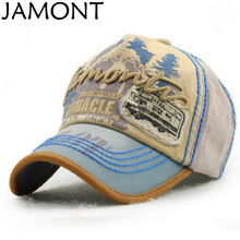 JAMONT 5 Panel Retro Letter Embroidery Baseball Cap Hip Hop Snapback Hat Men Women Summer Cap Gorras Red Green Purple Orange