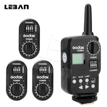 Godox Ft-16 Trigger 16 Channels Wireless Remote Flash Trigger 1x Transmitter + 3x Receiver for Witstro Ad360 DE/SK/QT/QS Series(China)