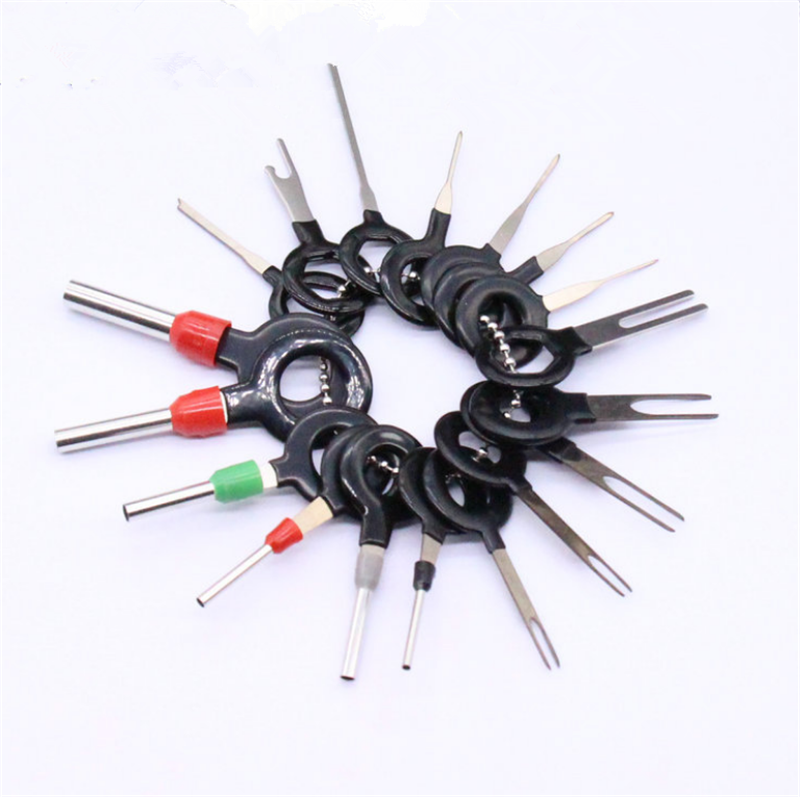 Car Terminal Removal Tool Wiring Connector Extractor Pin Kits 11Pcs New!