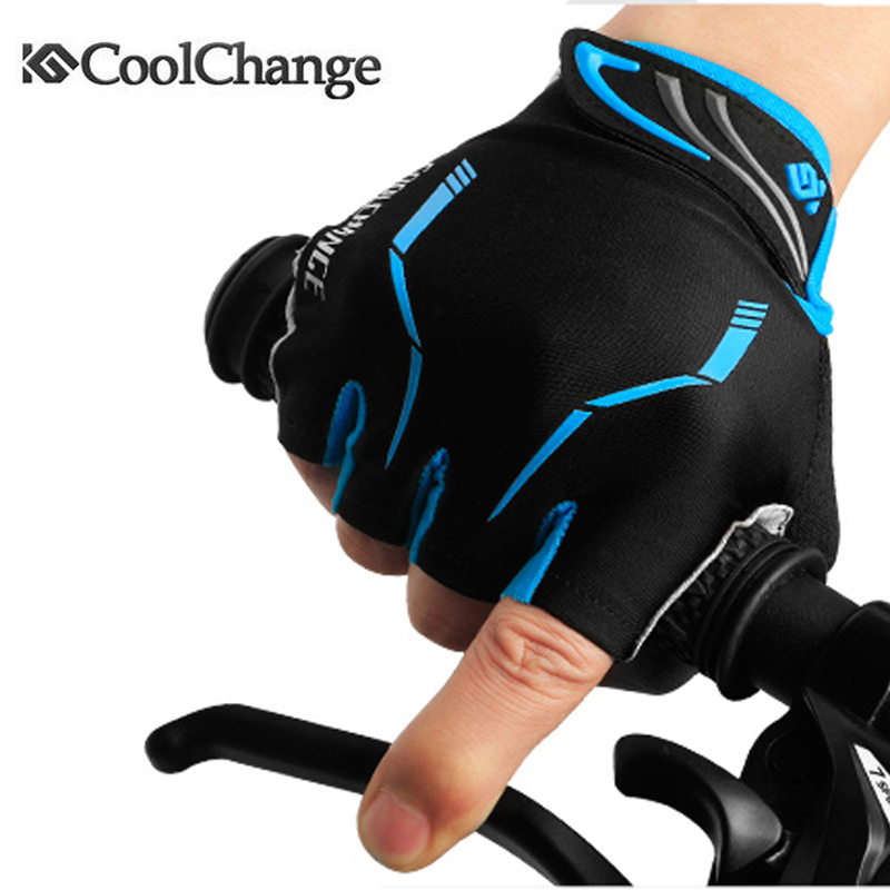 Coolchange 2016 Summer Half Finger Cycling Gloves Nylon Mountain Bike Gloves Breathable Sport Bicycle Gloves Guantes Ciclismo<br><br>Aliexpress