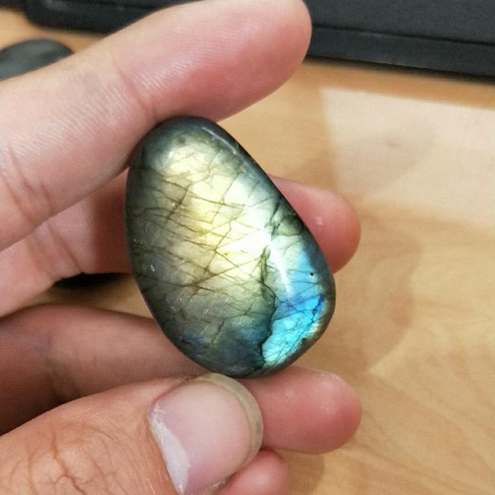 Navatulya® natural polished crystal quartz healing moonstone