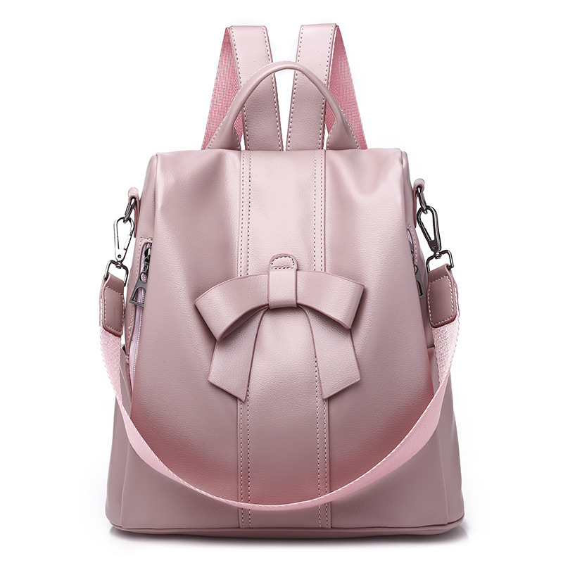 b3f3767cdb18 Purpose  Backpack Gender  Women .Youth. Teenage girls.Female Color   Black.Pink Features  Simple. design.Casual. Fashion. Large capacity.Travel