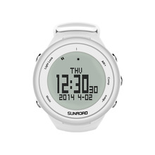 SUNROAD FR852A Climbing Watch Pedometer Barometer Altimeter Compass Backlight Waterproof Digital Smart Sports Watch(China)