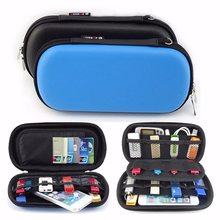 EVA Phone Headphone Storage Box USB Cable Flash Drive Pouch Case Travel Waterproof Sundries Organizer Digital Products Bag