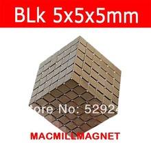 216pcs/pack,Permanent magnet cube, 5x5x5mm,magnet,DIY magnet, bucky magnet, Free shipping(China)