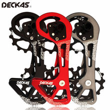 DECKAS Road bicycle rear derailleur pulleys Steel bearing jockey wheels 15T-15T Use SHIMANO/ RD 9000 / 9070/6800/6870(China)