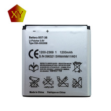 930mAh BST-38 BST 38 BST38 Phone Battery replacement Batteries for Sony Ericsson W580 W580i w760 T650 X10 mini Pro