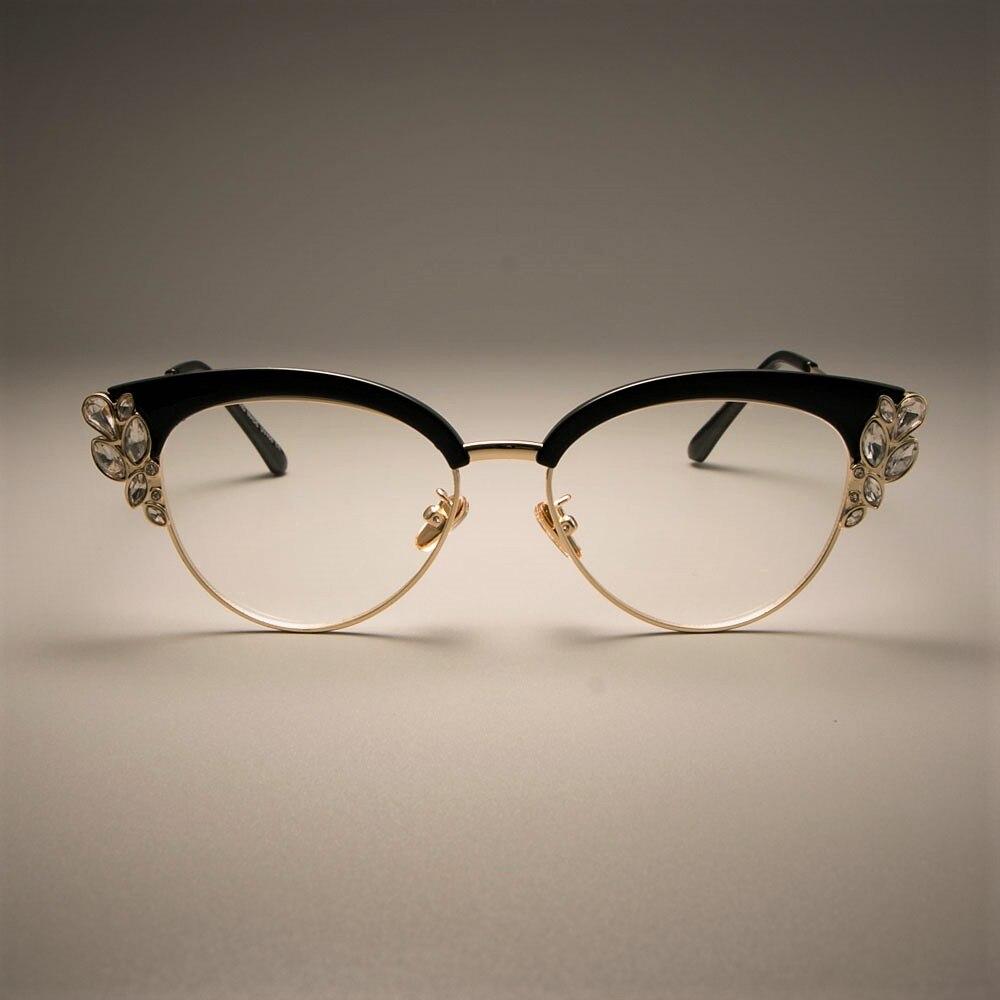 Gafas para mujer Ccspace con marco diamante – col.fantastyc